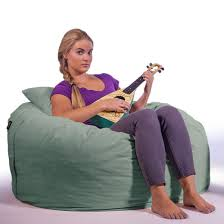 Bean Bag Chair For Adults Medium Sized Bean Bag Lounger Great For Teens One