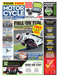 motor cycle monthly february 2016 by mortons media group ltd issuu