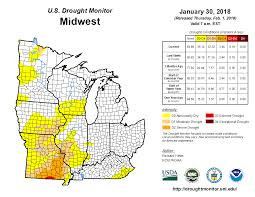 Iowa Map With Cities Nws Quad Cities Drought Conditions
