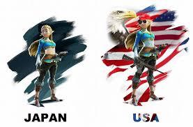 rude american north american localization be like