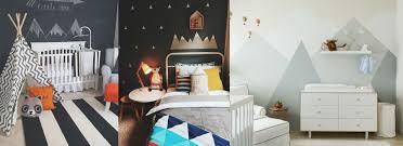 bedroom decor mountain background modern wallpaper border room