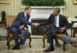 prince harry visits president obama promotes invictus games for