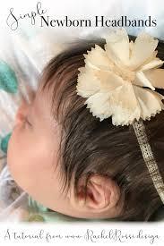 newborn headbands how to newborn headbands from scrapbooking supplies