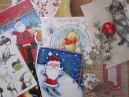 three ways to reuse old christmas cards mermaids makings