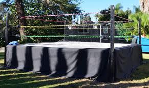 backyard wrestling ring for sale cheap ring rental santino bros wrestling academy