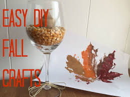 easy diy fall home decor crafts for everyone to do this fall in