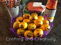 crafting and creativity easy healthy snacks for halloween