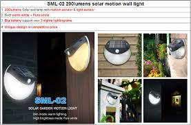 Motion Light Outdoor 2017 New Design Led Solar Home Light Solar Motion Sensor Light