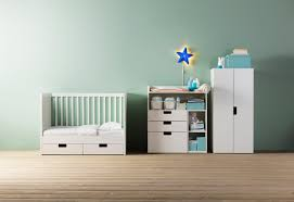 ikea bébé chambre stuva table à langer 4 tir blanc blanc 90x79x102 cm chambre bébé