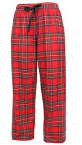 stewart plaid traditional flannel pajama pant