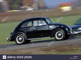 volkswagen car black car vw volkswagen pretzel beetle model year 1949 1953 black