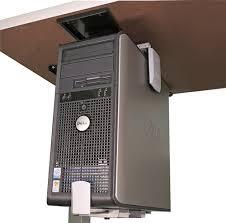 Under Desk Cpu Mount Cpu Holders Ergonomic Solutions Ltd