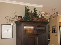 vibrant how to decorate top of kitchen cabinets for christmas