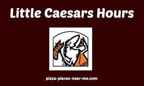caesars hours of operation