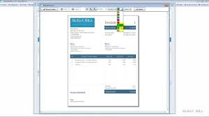 Process Server Invoice Template by Sleek Bill Demo Creating An Invoice