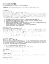 Correctional Officer Resume Samples Security Resume Resume Cv Cover Letter