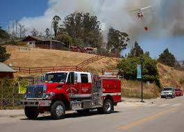 Fire Evacuation Plan In Restaurant by Bridge Fire Roads Reopened Evacuations Lifted In Cambria Ksby
