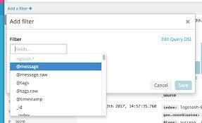 Filter Filtering By Field Kibana User Guide 6 0 Elastic