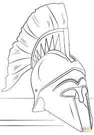 roman soldier helmet coloring page free printable coloring pages