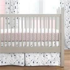 pink and navy baby woodland crib bedding carousel designs