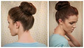 sock bun hair the freckled fox hair tutorial the sleeker sock bun hair