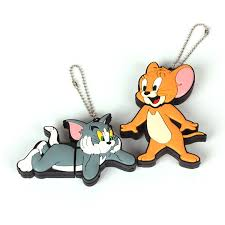 free shipping drive cartoon mini cat tom jerry 2g 4g 8g usb