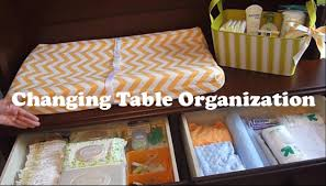 Changing Table Organizer Ideas Changing Table Organization On A Budget How To Organize A