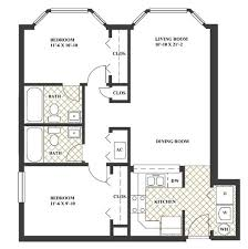 most efficient floor plans 2br 2ba at stadium central c the ideal apartments near uf