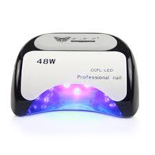 48w nail dryer polish machine ccfl uv lamp led nail lamp for gel