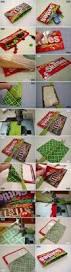 diy skittles schokoladen täschchen christmas crafts for gifts