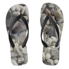 seashell flip flops shells flip flops
