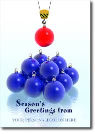 construction ornaments season s greetings