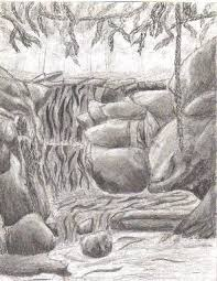 best 25 waterfall drawing ideas on pinterest river drawing