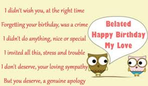 happy belated birthday quotes wishes messages images