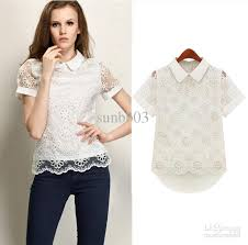 womens tops and blouses europe s fashion orangza tops blouse pan collar