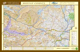 Craig Colorado Map by Moffat County Map Moffat County