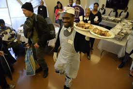 ny church cooks up upscale thanksgiving meal for homeless ny