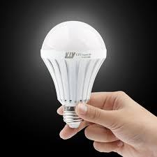 Led Lamp Light Bulbs by E27 Emergency Led Light Bulb Rechargeable Storm Lamp Still Work