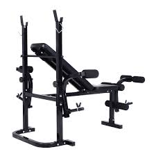 Max Bench Workout Adjustable Weight Lifting Sit Up Multi Function Fitness Bench