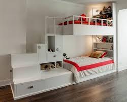 ensemble chambre enfant chambre avec lit mezzanine 2 places lit banquette pour ado ou