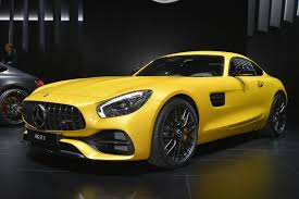 facelifted 2018 mercedes amg gt comes to detroit to pick a fight