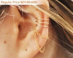 ear cuffs for sale philippines 3 ring ear cuff etsy