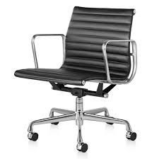 White Leather Office Chair Canada Herman Miller Eames Aluminum Group Management Chair Gr Shop