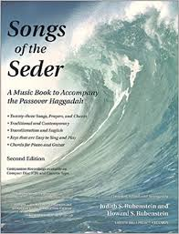 passover seder books songs of the seder a book to accompany the passover haggadah