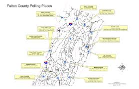 Map Of Pennsylvania Towns by Elections County Of Fulton Pa
