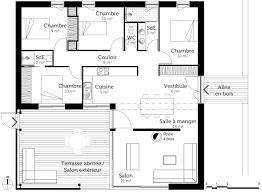 maison avec 4 chambres plan de maison cubique 100 m avec 4 chambres ooreka 1 330003 10027