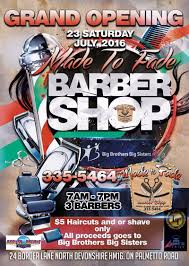 5 haircuts for barbershop u0027s grand opening bernews bernews