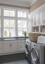 White Laundry Room Cabinets Laundry Room Cabinets Washer And Dryer Planinar Info