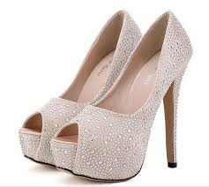 wedding shoes in sri lanka stylish wedding shoes diamond peep toe thin heel platform high