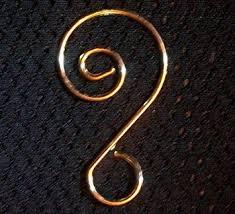 fancy gold ornament hooks gold ornament hanger for